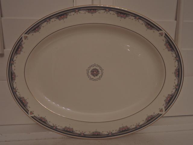"Royal Doulton Albany Fine Bone China 16"" Platter"