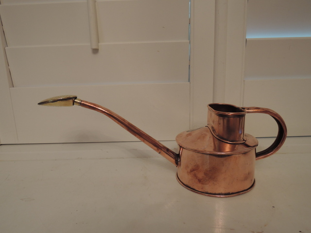 Vintage English Genuine Copper Haws Watering Can