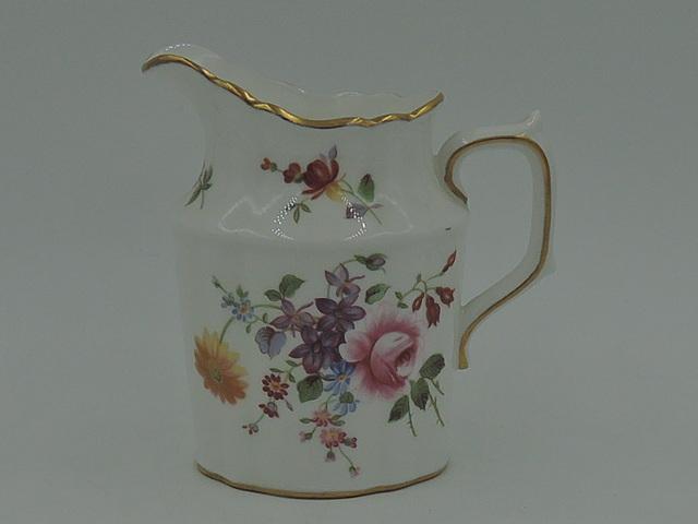 Vintage Porcelain Royal Crown Derby Posies Creamer/Pitcher Bone China