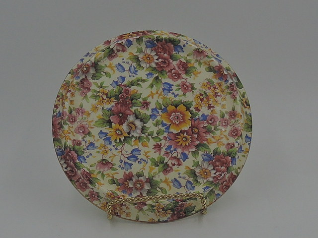 Vintage Royal Winton Chintz Cheadle Teapot Stand Tea Trivet Tile