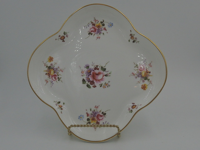 Vintage Royal Crown Derby Posies Serving Dish Tray Plate Bone China