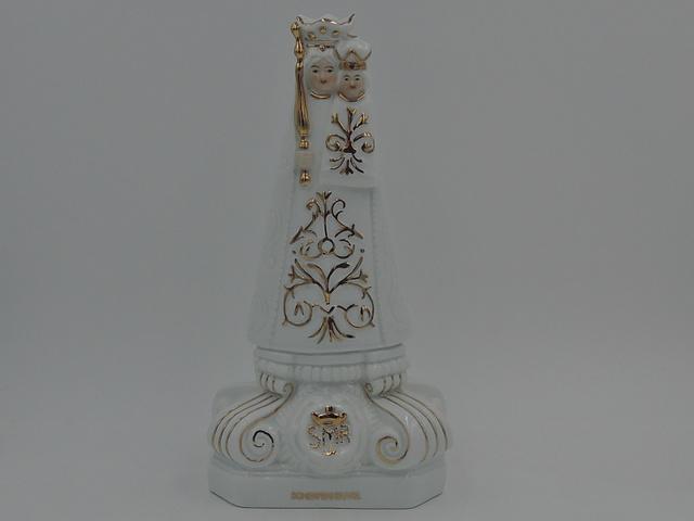 Vintage Our Lady of Montaigu Scherpenheuvel Belgium Madonna & Child Statue