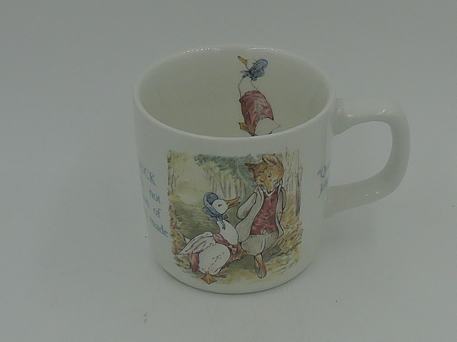 Vintage Wedgwood Beatrix Potter Jemima Puddle-Duck Child's Cup