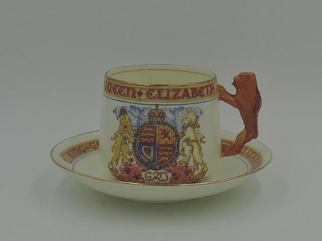 Vintage Paragon King George VI & Queen Elizabeth Coronation Cup & Saucer