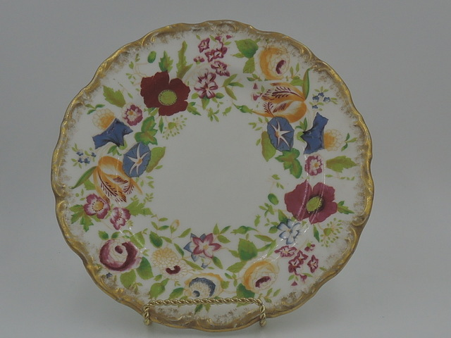 "Vintage Hammersley Queen Anne 8"" Plate Beautiful Fine Bone China"