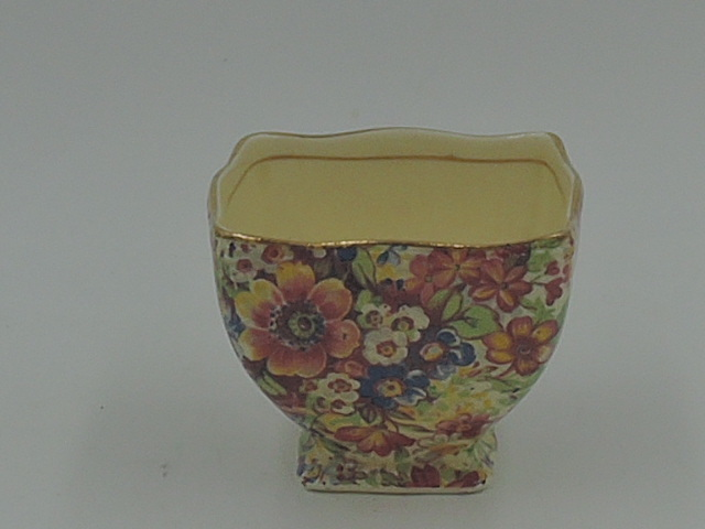 Vintage Royal Winton Chintz Sunshine Sugar Cup/Bowl