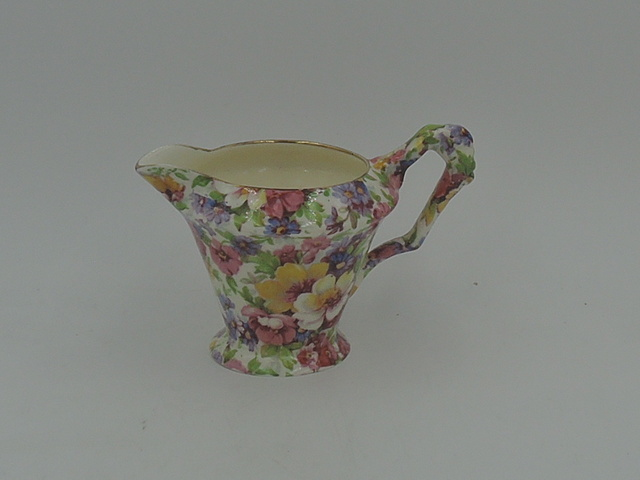 Vintage James Kent Chintz Du Barry Creamer/Pitcher Old Mark