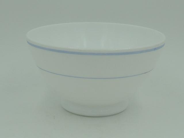 Vintage French Blue & White Cafe Au Lait Bowl