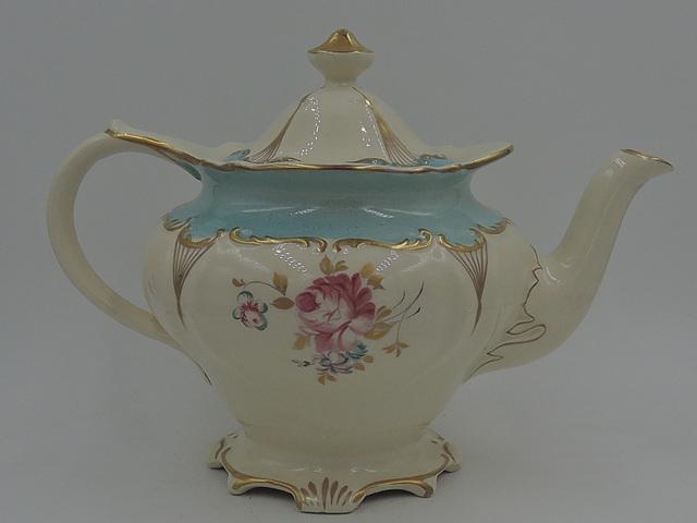Vintage Sadler Teapot Pink Roses As Seen In Tea Time Magazine 2951