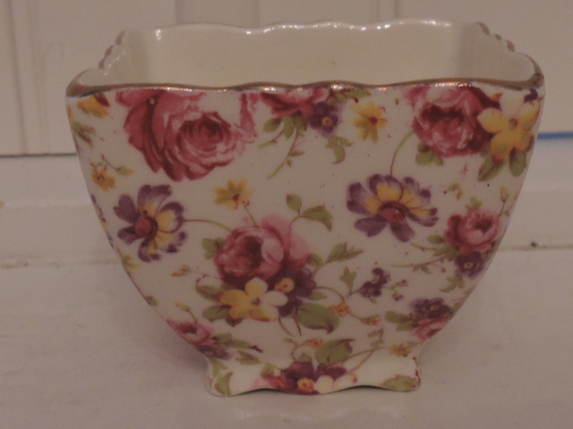 Vintage James Kent Chintz Rapture Sugar Cup Bowl