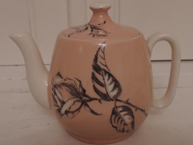 Vintage Royal Winton Countess Rose Teapot Breakfast Set