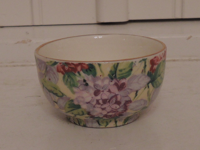Vintage James Kent Chintz Hydrangea Sugar Cup/Bowl for Breakfast Set