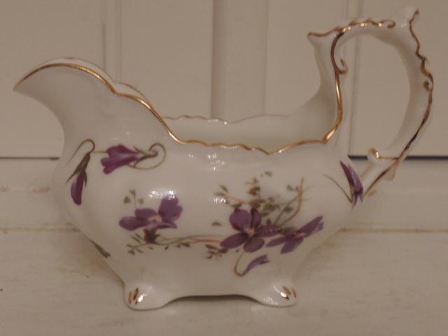 Vintage Hammersley Victorian Violets Creamer Pitcher