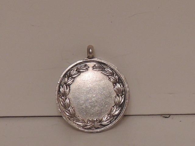 Vintage English Sterling Silver Watch Fob Hallmark Swimming Award 1922