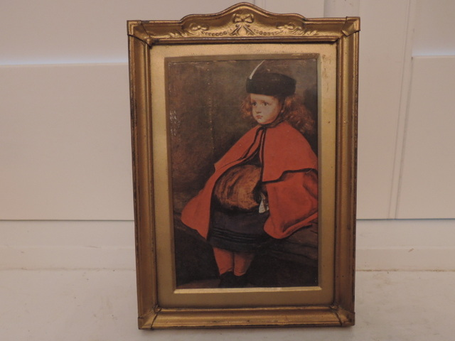 """Vintage French Gilt Photo Frame 5"""" x 3.5"""" Picture 1940's"""
