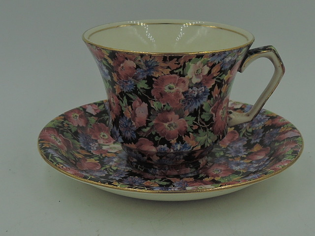 Vintage Royal Winton Chintz Majestic Cup & Saucer