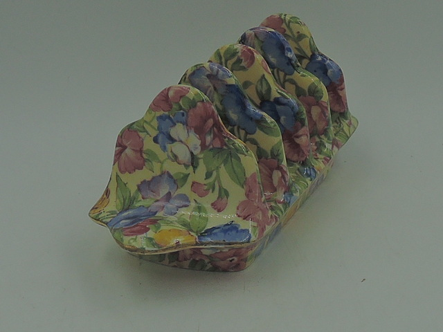 Vintage Crown Clarence Chintz Rose Dubarry Briar Confetti Chelsea Jardiniere Planter