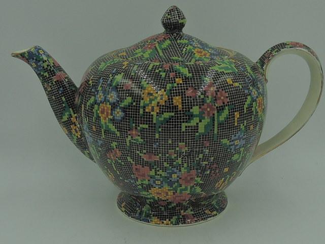 Vintage Royal Winton Chintz Victorian Albans 5 Cup Teapot