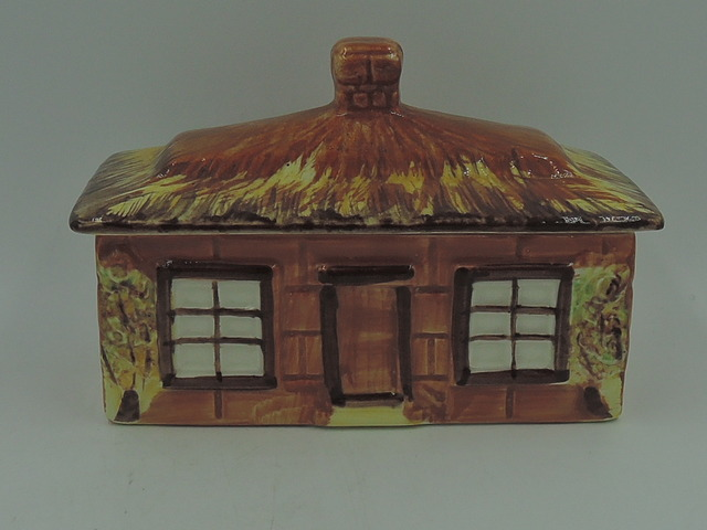 Vintage Price Kensington Cottage Ware Tea Caddy Butter/Cheese Dish