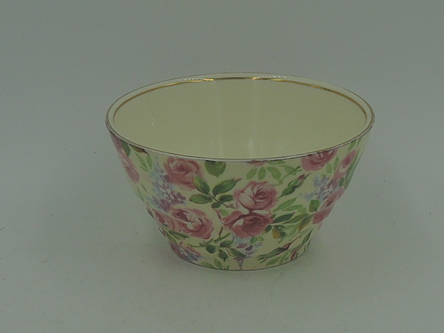 Vintage Royal Winton Chintz June Roses Sugar Cup Bowl