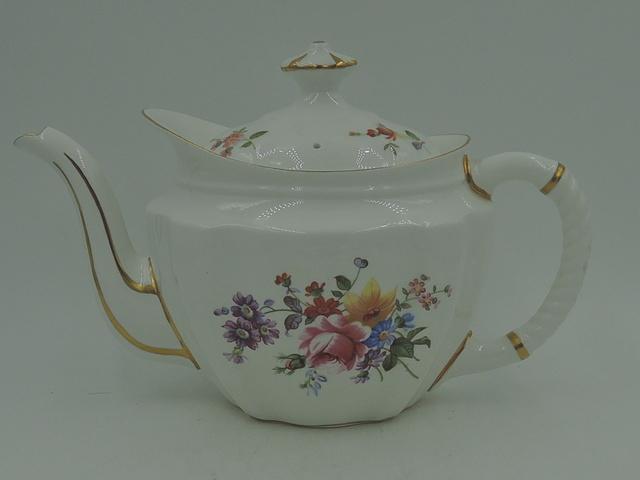 Royal Crown Derby Posies Bone China Small Teapot