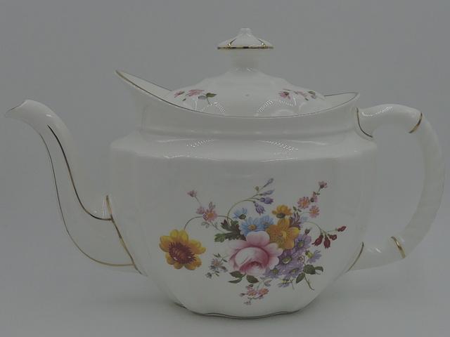 Royal Crown Derby Posies Large Bone China Teapot 1st Quality