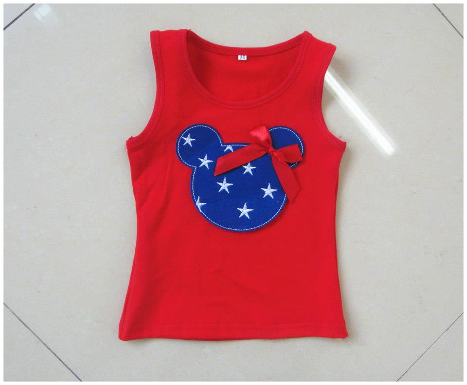 July 4th Mickey Top