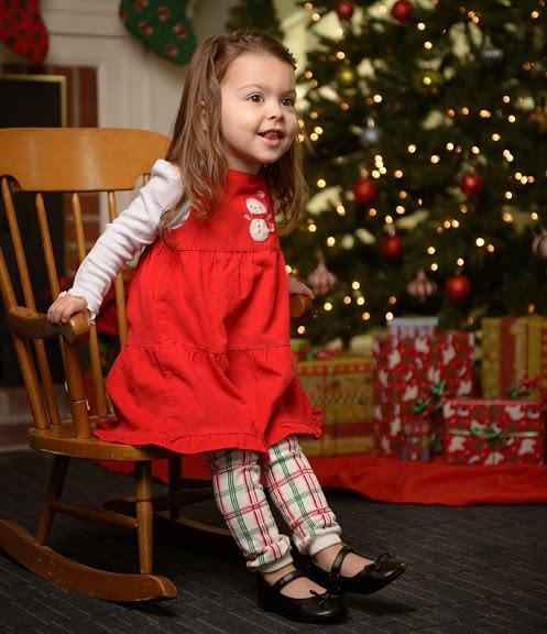 Christmas Plaid Leg Warmers
