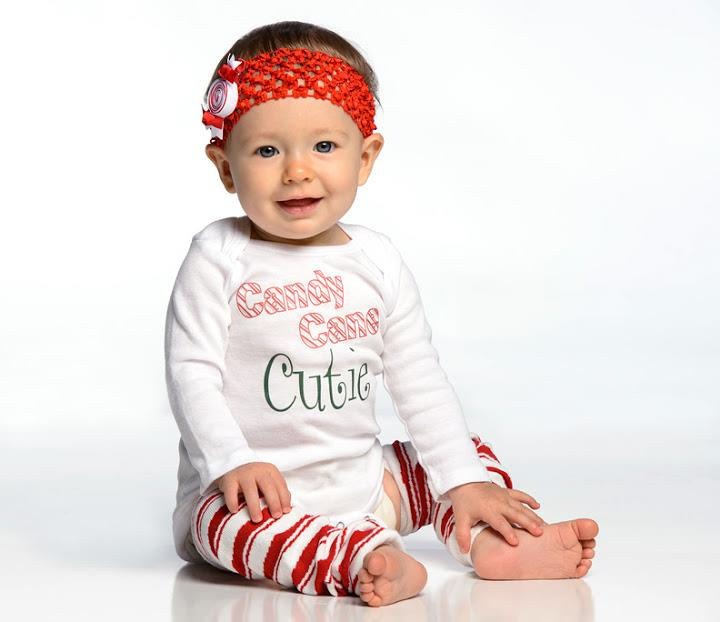 Christmas Candy Cane Stripe Leg Warmers
