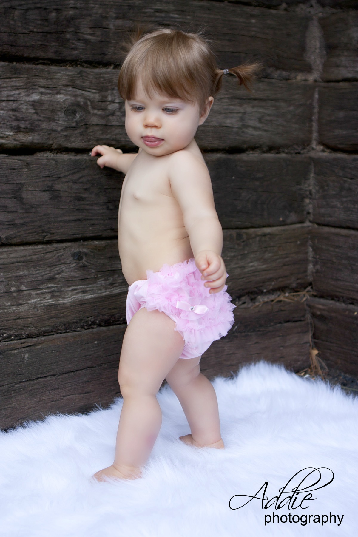 Light Pink Cotton Ruffle Bloomers