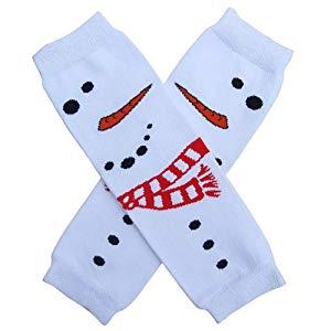 Snowman Leg Warmers