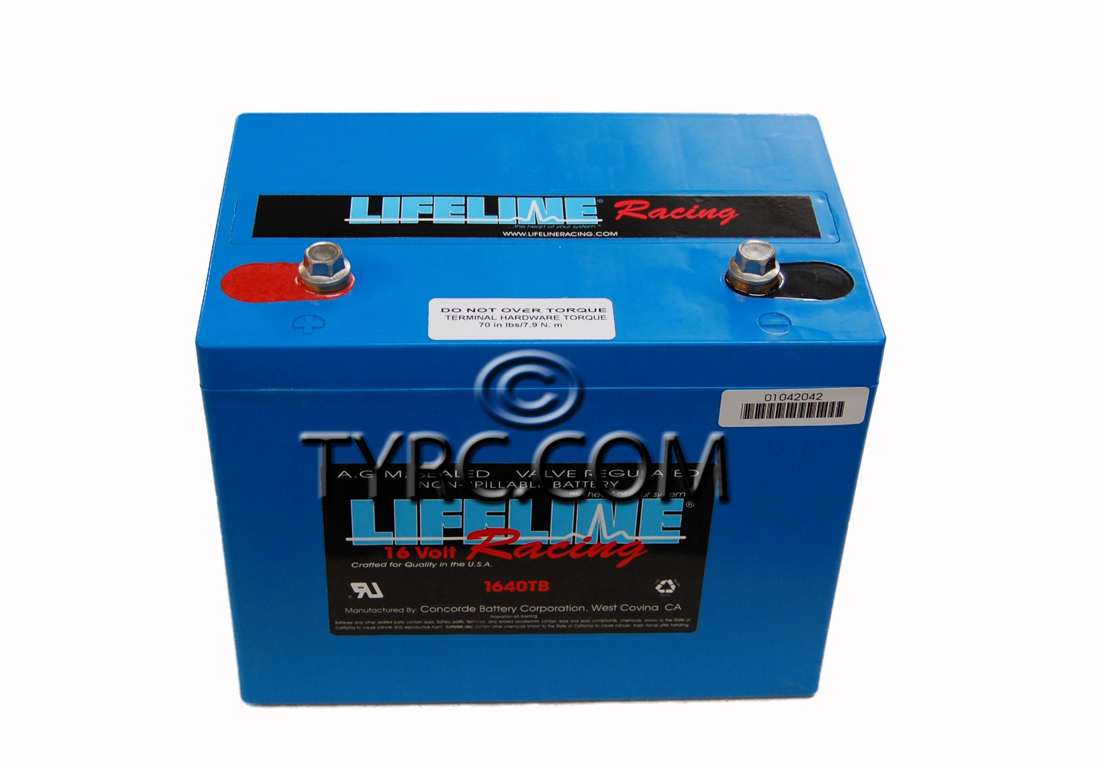 16 Volt AGM Battery