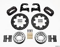 Wilwood Forged Dynalite Rear Drag Brake Kit Drilled Rotor (Big Ford)