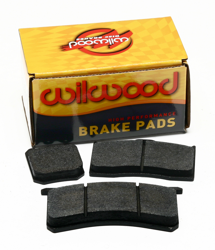 Wilwood Brake Pad,7812-10,DP,Black,.49 THK,W/Bridge