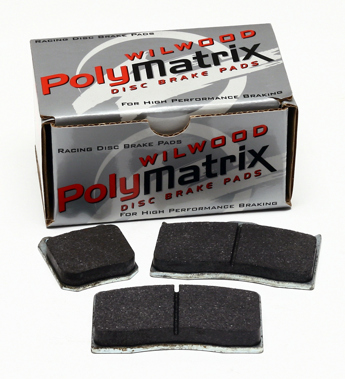 Wilwood Brake Pad,7112E,DL,Polymatrix,.49 THK.