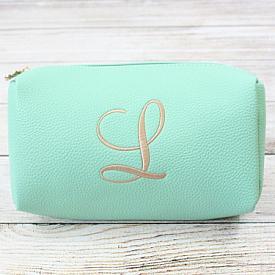 Mint Cosmetic Bag