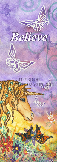 Spirit, Unicorn Bookmark