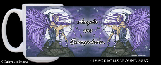 Angelica, Angel Coffee Mug