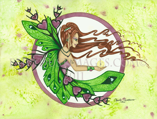 Faith, Mustard Seed Fairy Art Print