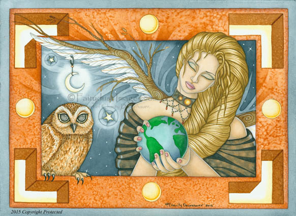 Mother Earth, Limited Edition Fine Art Prints