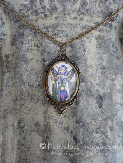 Destiny, Magical Fairy Art Pendant