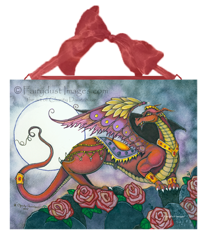 Mufasa, Dragon Art Tile