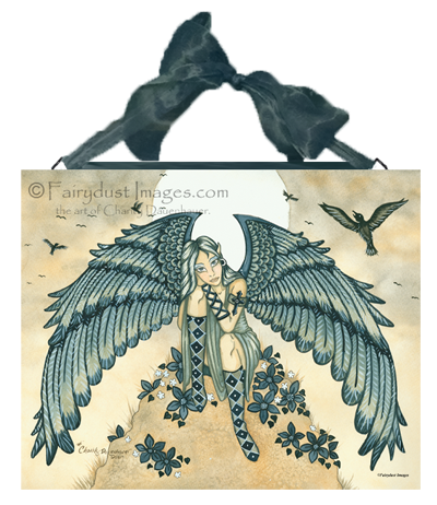 Remembrance, Angel Art Tile