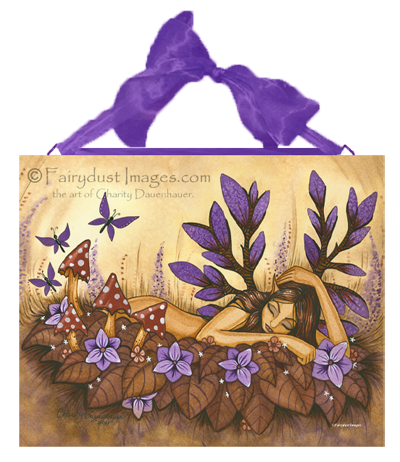 Woodland Fairy, Fantasy Art Tile