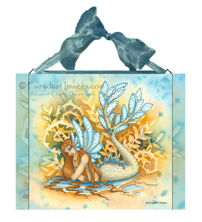 Woodland Tail, Mermaid Art Tile