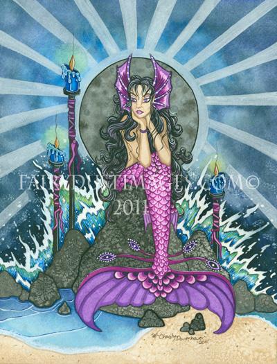 To Wonder, Mermaid Art Print