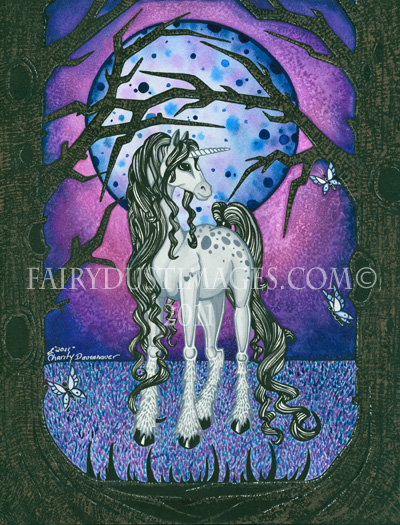 Unicorn Dreams, Fantasy Art Print