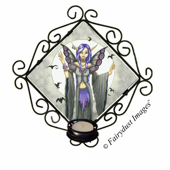 Destiny, Fairy Tile Candle Sconce