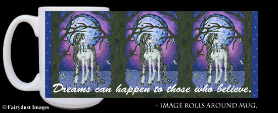 Unicorn Dreams, Coffee Mug