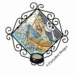 A Pirates Life, Mermaid Tile Candle Sconce